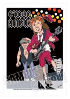 Ac-Dc-Angus Young Caricature, Heroes Of Rock (Rock Pop)