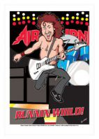 Airbourne - Ac-Dc Caricature, Heroes Of Rock (Rock Pop)
