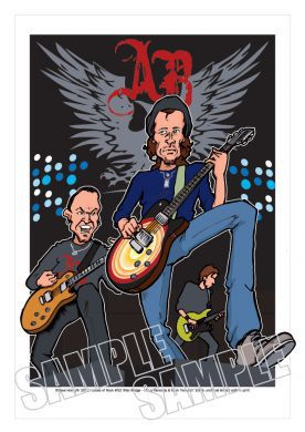 Alter Bridge Caricature, Heroes Of Rock (Rock Pop)