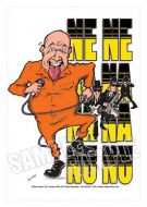 Bad Manners caricature, Heroes of Ska-Mod (Rock/Pop)
