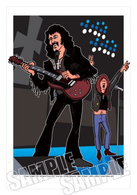 Black Sabbath Caricature, Heroes Of Rock (Rock Pop)
