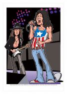 Deep Purple Mk2 caricature, Heroes of Rock (Rock/Pop)