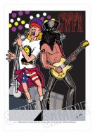 Guns'N'Roses caricature, Heroes of Rock (Rock/Pop)