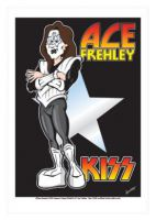 Ace Frehley - Kiss Caricature, Heroes Of Rock (Rock Pop)