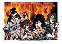 Kiss Caricature, Heroes Of Rock (Rock Pop)