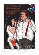 Meatloaf Caricature, Heroes Of Rock (Rock Pop)