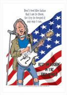 Neil Young Caricature, Heroes Of Rock (Rock Pop)