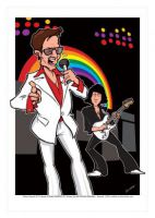 Rainbow Caricature, Heroes Of Rock (Rock Pop)