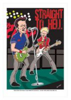 The Clash Caricature, Heroes Of Rock (Rock Pop)