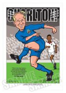 Bobby Charlton Caricature Legends of Football