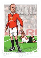 Eric Cantona Caricature