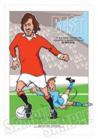 George Best Caricature