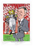 Sir Alex Ferguson - Manchester United Caricature
