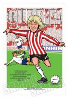 Tony Currie Caricature Legends Of Football