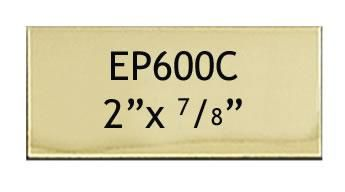51 X 22 Mm Engraving Name Plate