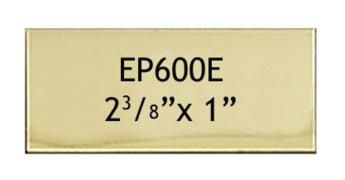 60 X 25 Mm Engraving Name Plate