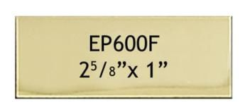 67 X 25 Mm Engraving Name Plate