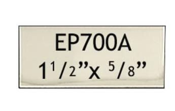 38 X 16 Mm Engraving Name Plate