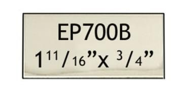 43 X 19 Mm Engraving Name Plate