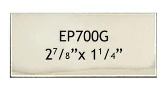 73 X 32 Mm Engraving Name Plate