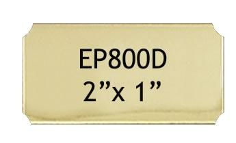 51 X 25 Mm Engraving Name Plate