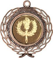 Bronze Wreath Medal - 1.75in