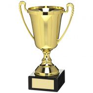 Gold Plastic Cup Trophy Award - 10.5in