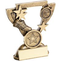 Bronze Gold Athletics Mini Cup Trophy Award Trophy - (1in Centre) 4.25in