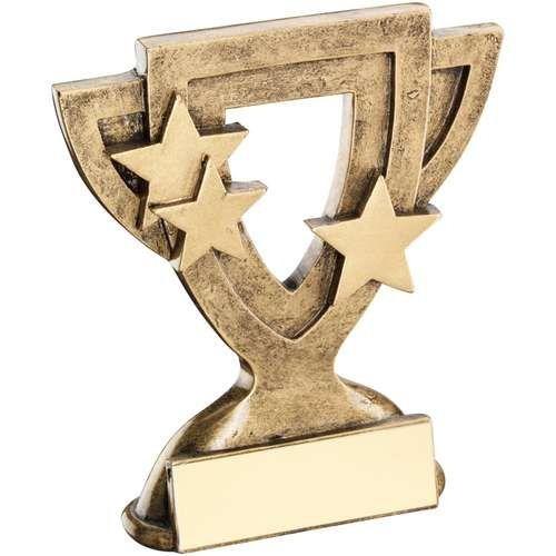 Bronze Gold Generic Mini Cup Trophy Award Trophy - 4.25in