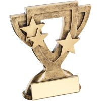 Bronze Gold Generic Mini Cup Trophy Award Trophy - 3.75in