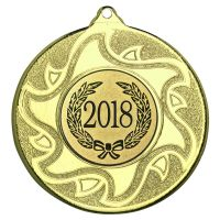 Gold Sunshine Medal - 2in (New 2014)