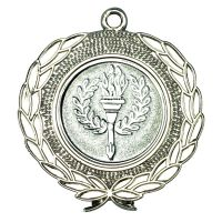 Silver Wreath Medal - 1.75in