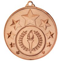 Multi Star Medal - Bronze 2in