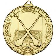 Gold Hurling Celtic Medal - 2in