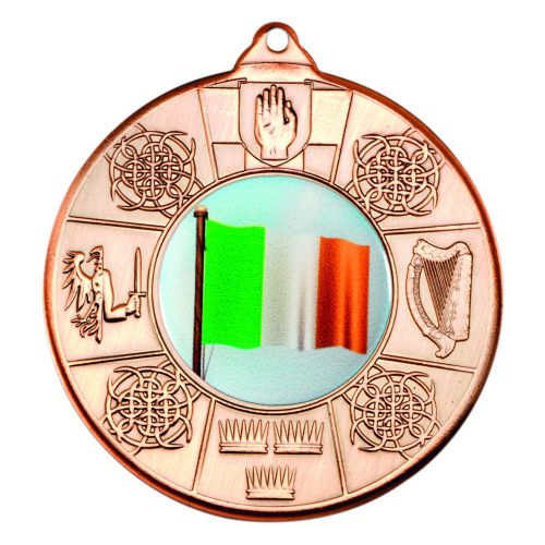 Bronze Four Provinces Medal - 2in