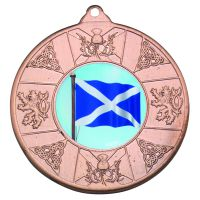 Bronze Scotland Medal - 2in (New 2014)