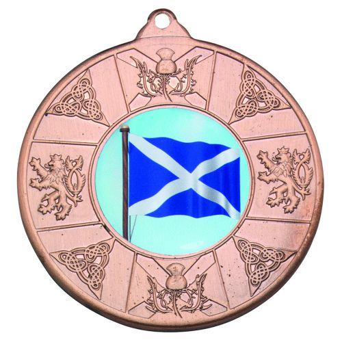 Bronze Scotland Medal - 2in (New 2014)