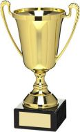 Gold Plastic Cup Trophy Award - 7in