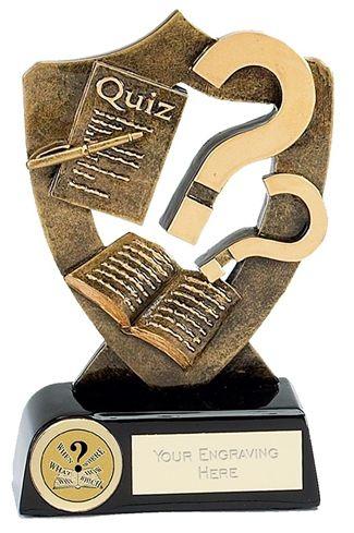 Celebration Shield Trophy Award Quiz