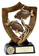 Celebration Shield Trophy Award Fishing