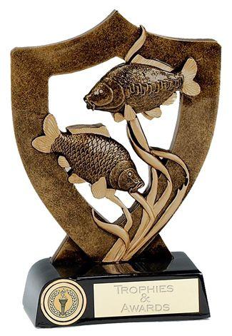 Celebration Shield Trophy Award Fishing