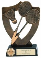 Celebration Shield Trophy Award Badminton