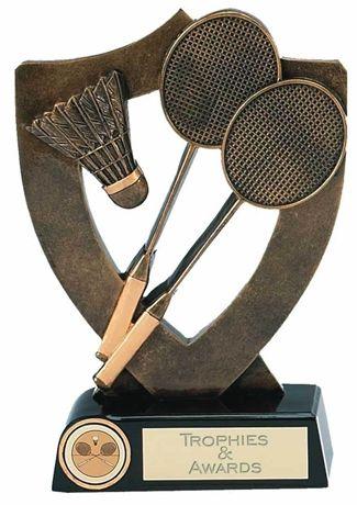 Celebration Shield Trophy Award Badminton
