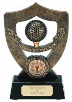 Celebration Shield Trophy Award Nearest The Pin