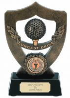 Celebration Shield Trophy Award Longest Drive