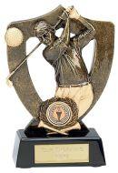 Celebration Shield Trophy Award Golf