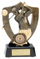 Celebration Shield Trophy Award Golf