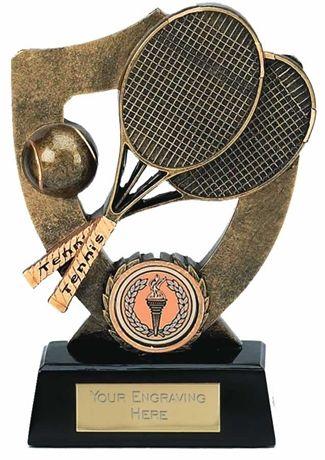 Celebration Shield Trophy Award Tennis