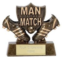 Man Of The Match Shield Trophy Award