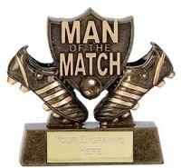 Man Of The Match Shield Trophy Award